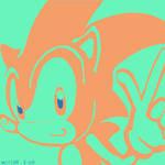 500 Drawings 003: Sonic The Hedgehog