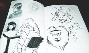 Sketchbook #5
