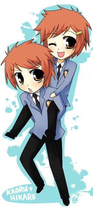 Hikaru + Kaoru by Michiko-GO on DeviantArt  Hikaru + Kaoru ...