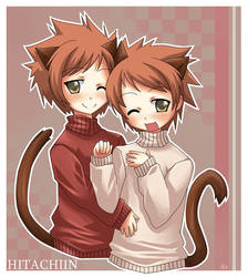 Ouran: Kitty Twins by Michiko-GO