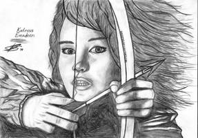 Katniss Everdeen. The Hunger Games. by Dreepss