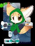 Benji the fennec fox -ref-