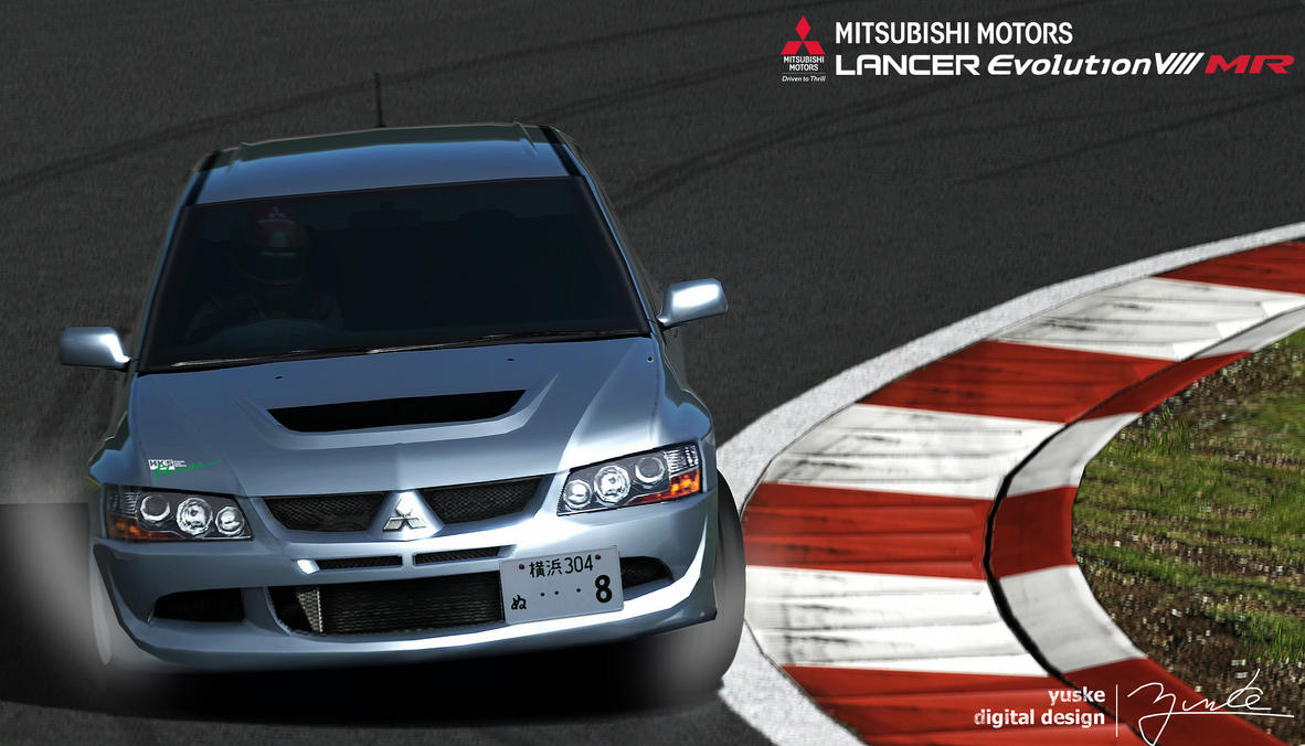 Grand Turismo6 EVO8 MR by YuskeDigitalDesign