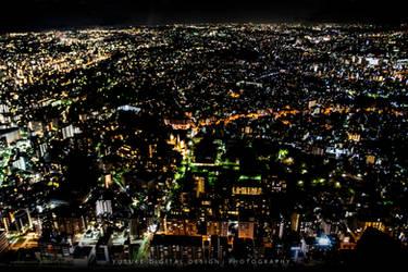 The Lights Dots Beuty, Yokohama Japan by YusukeDigitalDesign