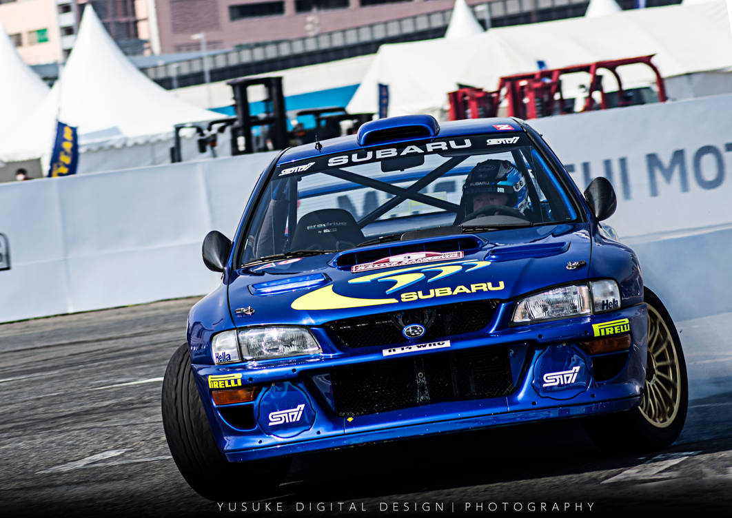 WRC SUBARU IMPREZA STI by YusukeDigitalDesign