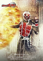 Kamen Rider Wizard Flame Style Cosplay