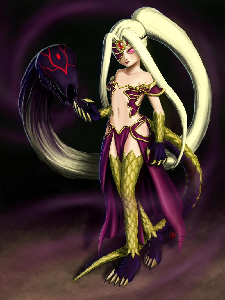 Gorgon Illya by reikwon