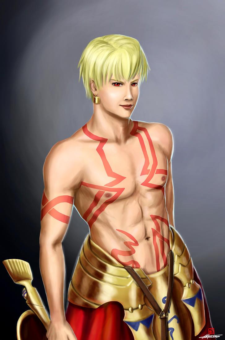 Gilgamesh (Fate) by reikwon