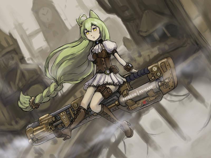 [Steampunk version] Akashi by Reikamaru