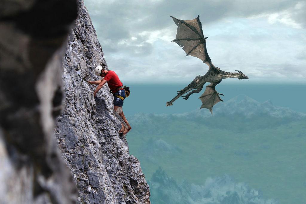 Skyrim Mountain Climbing by WorldspawnTCS