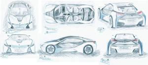 BMW Vision Efficient Dynamics by edesr