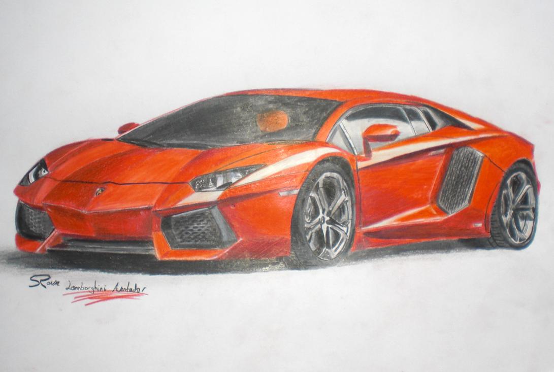 Lamborghini Aventador Color Changing Paint