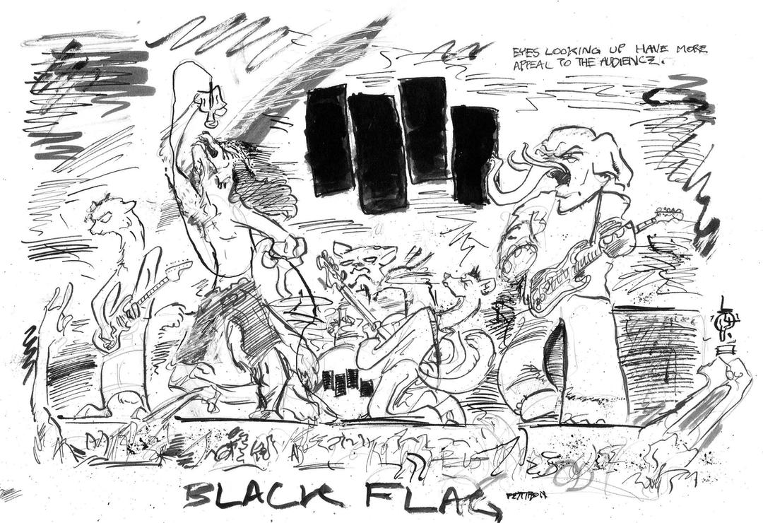 BLACK FLAG - furries by LiimLsan on DeviantArt