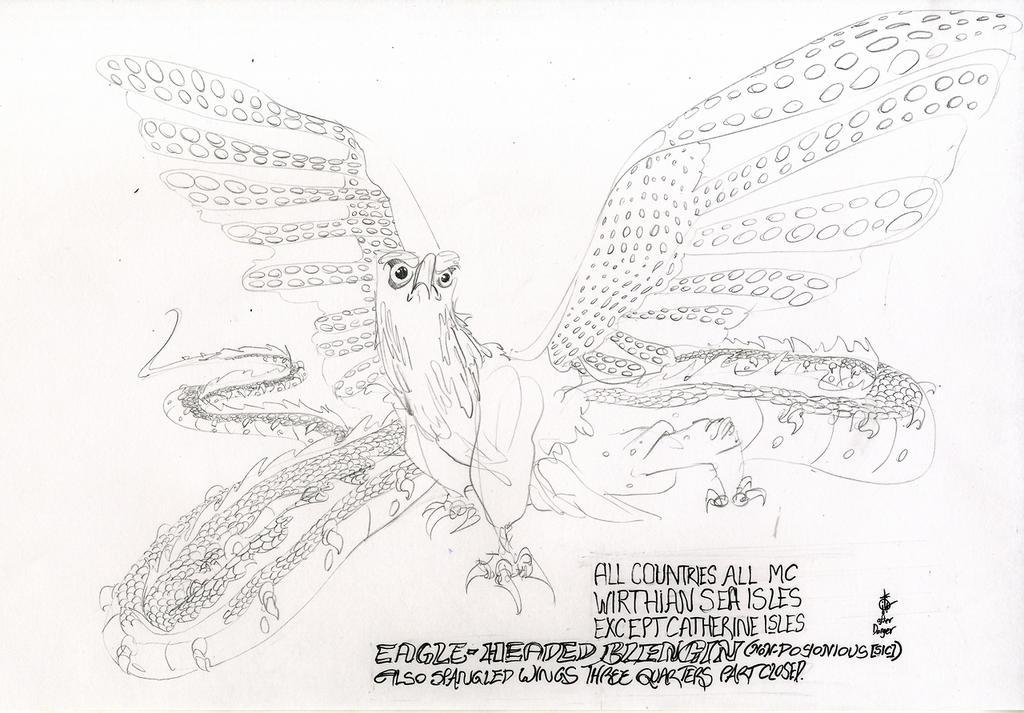 Eagle Headed Blengin by LiimLsan