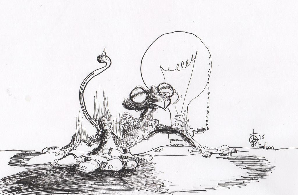 Scale Monkey by LiimLsan