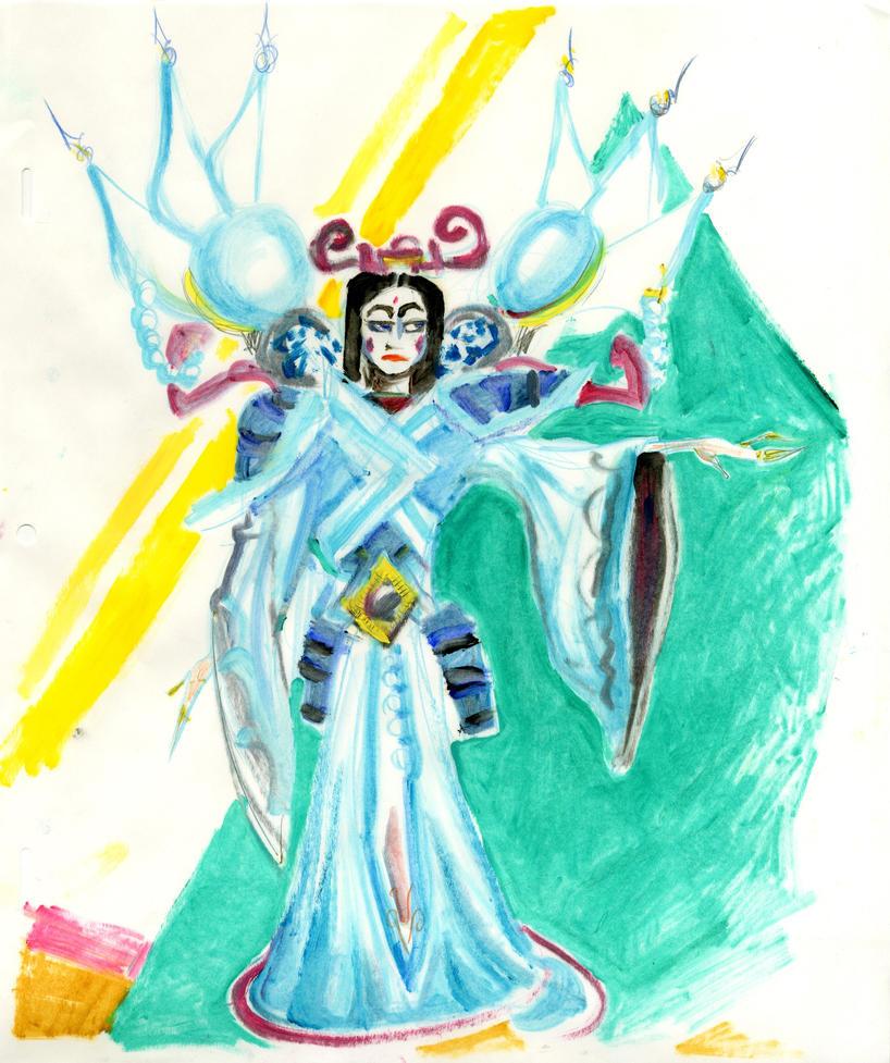Turandot sketch by LiimLsan