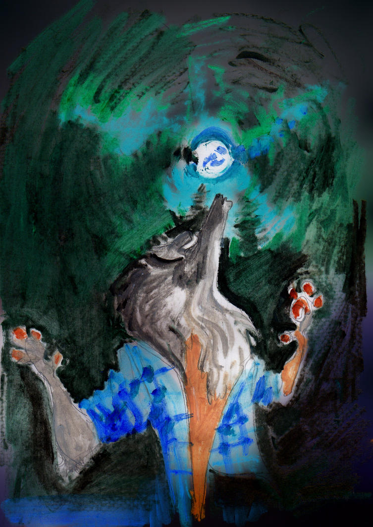 Werewolf Birthday   852 by LiimLsan