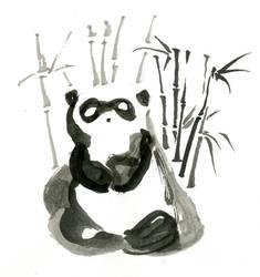 Inktober day 2: Panda