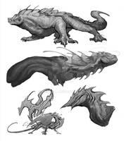 Random Dragon sketch