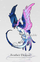 [Offer to adopt - CLOSE] Feather Dragon