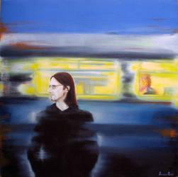 Steven Wilson, a portrait by DomiziaParri