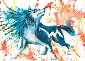 Wolf Link TP Water color