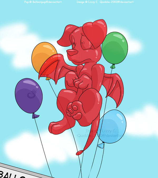 Pop - Balloonpup Commission by Quiddie-2000