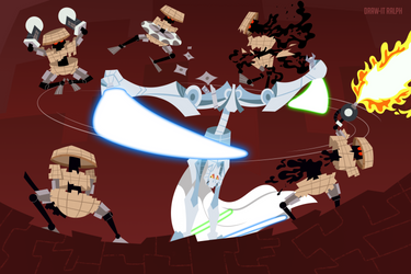 Grievous and the Ultra-Robots