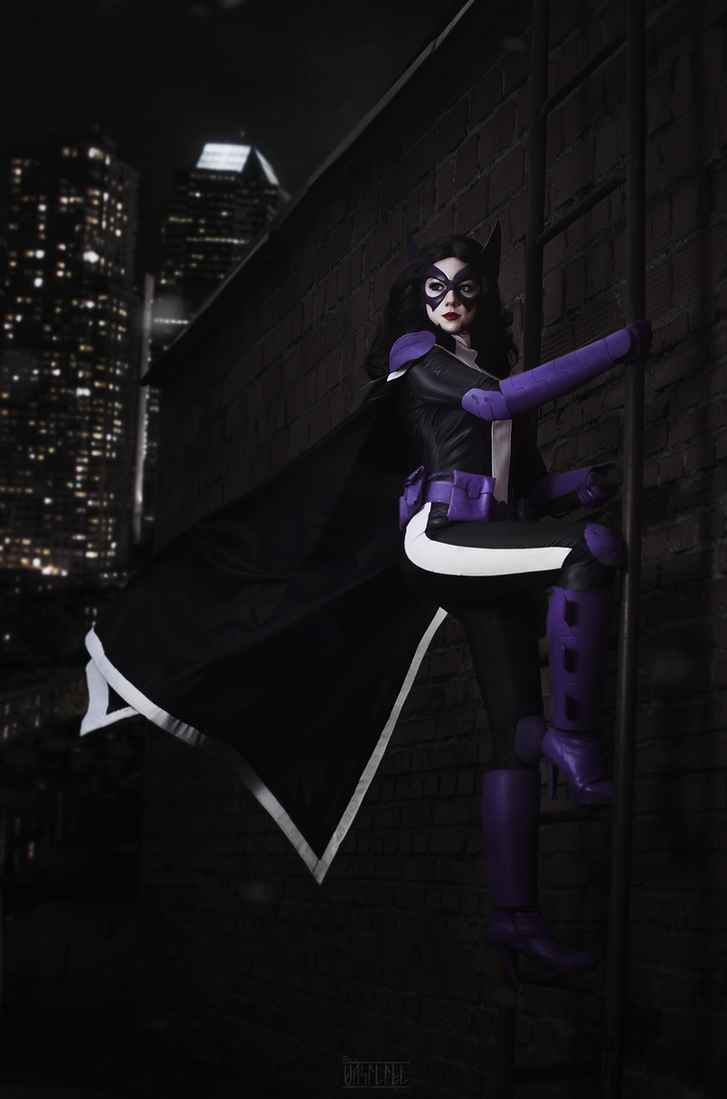 Huntress - Helena Wayne by Kamiko-Zero