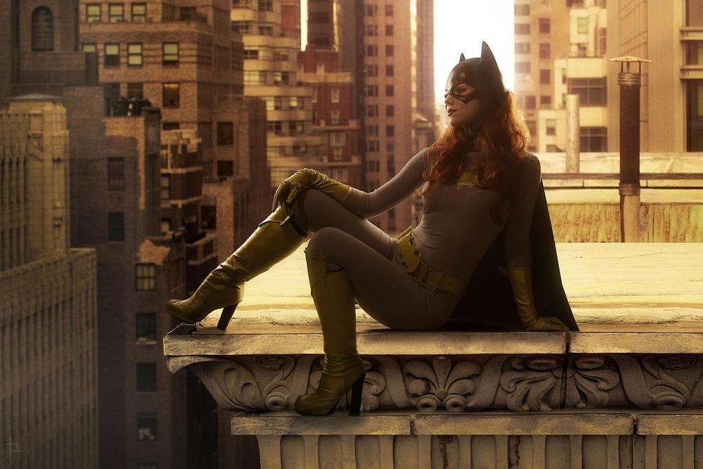 classic Batgirl by Kamiko-Zero