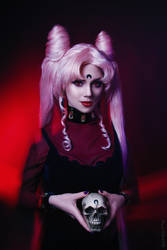 Black Lady Sailor Moon R by Kamiko-Zero