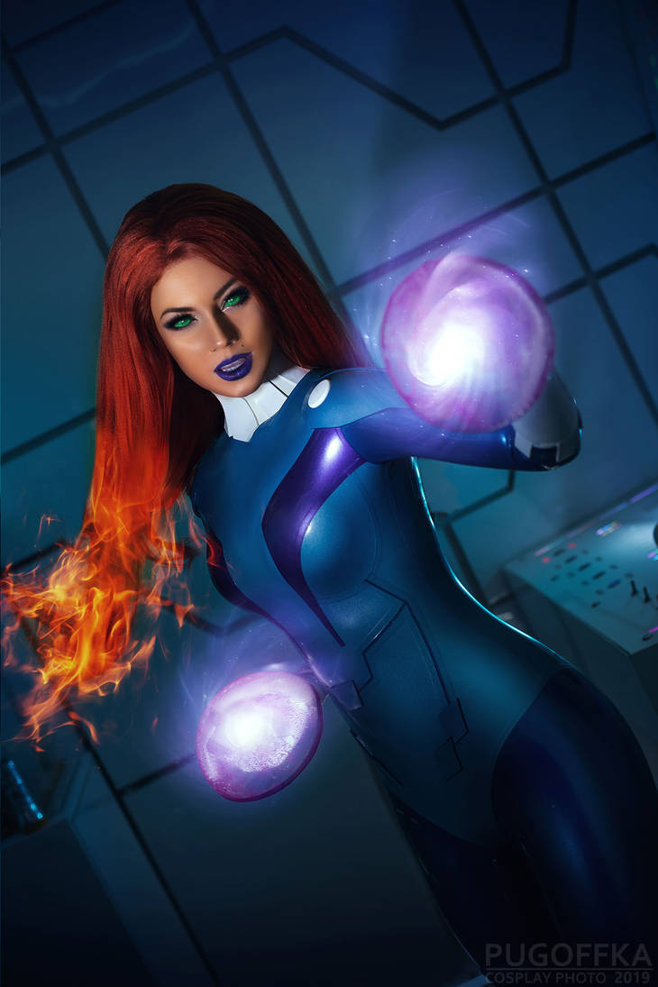 Starfire spacesuit by Kamiko-Zero