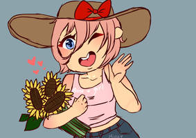 Sunflower Pickin' by minuu-minnu