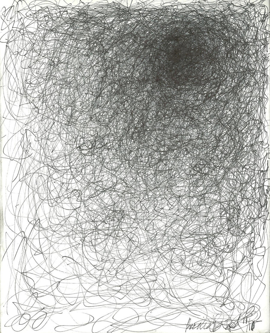Scribble Pencil Drawings : Scribble art by ninjapooh on deviantart