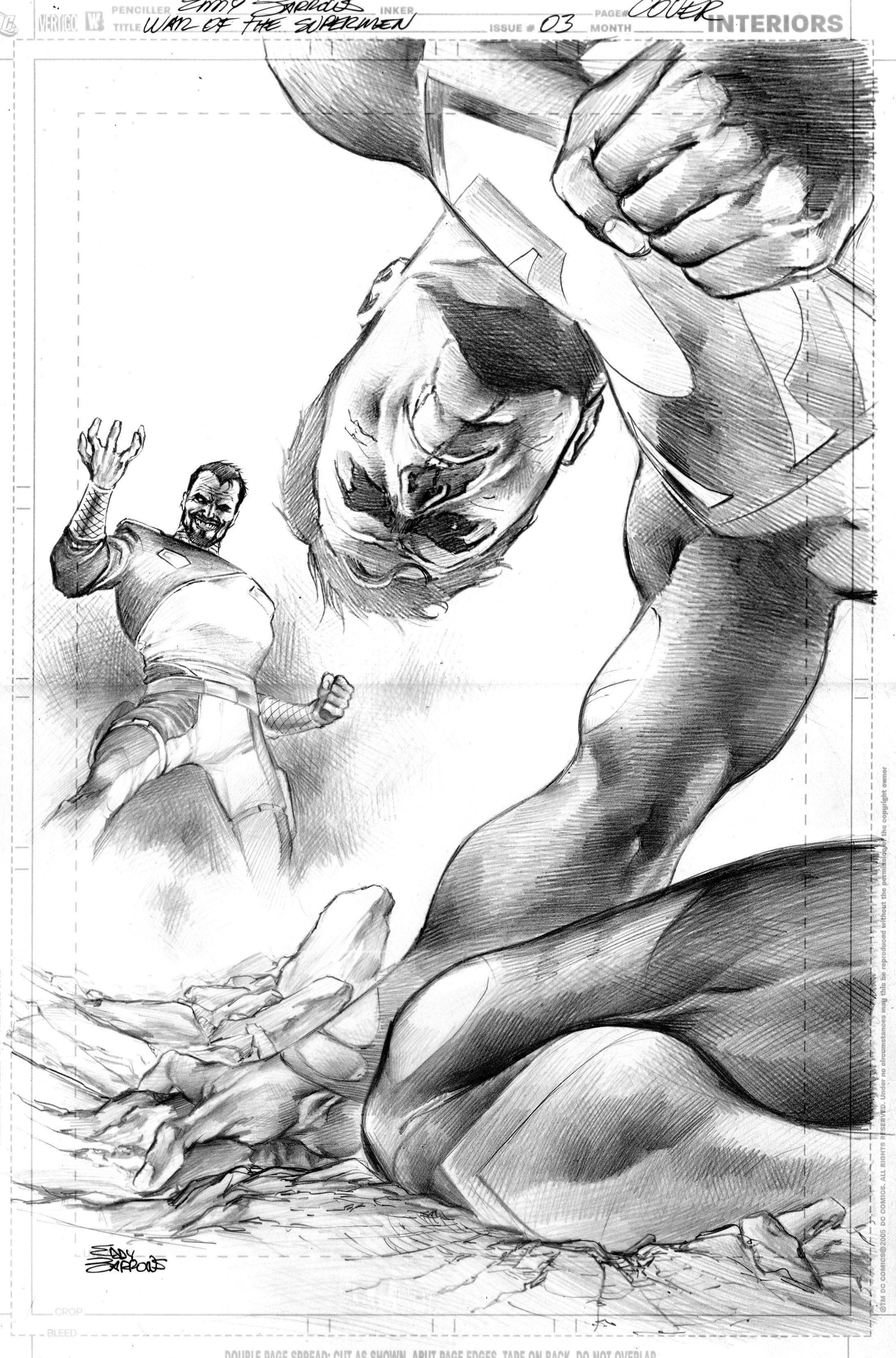 WAR OF THE SUPERMEN 3 by eddybarrows