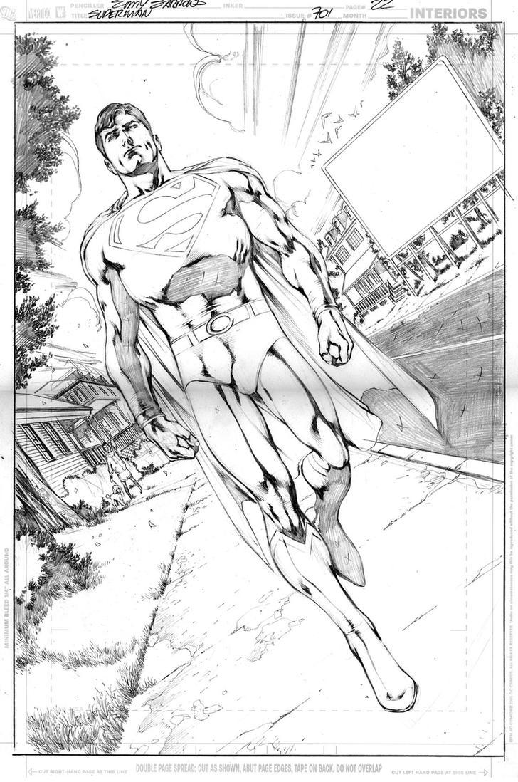 Superman Pencils