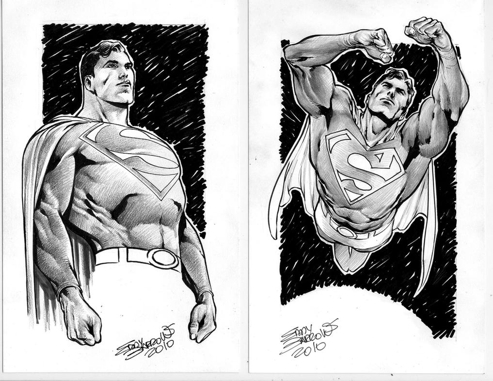 SUPERMAN SKETCH 2 by eddybarrows