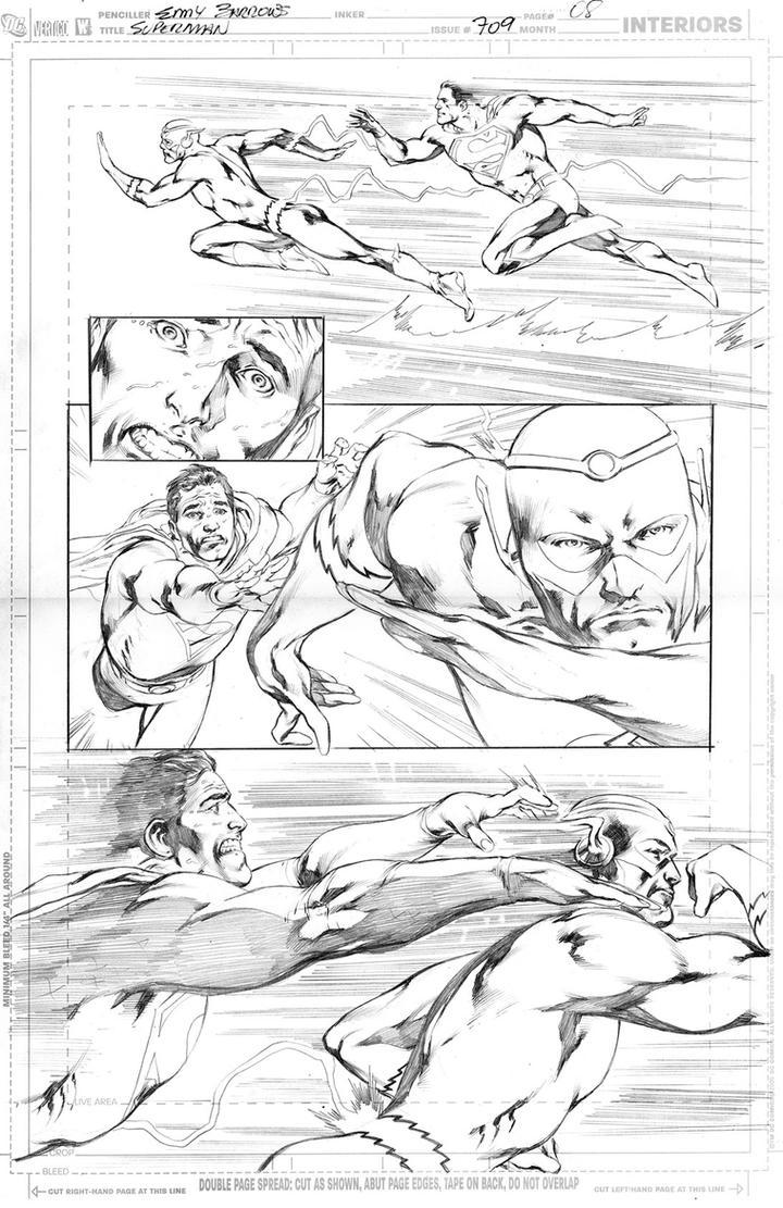 SUPERMAN 709, PAGE 08 by eddybarrows