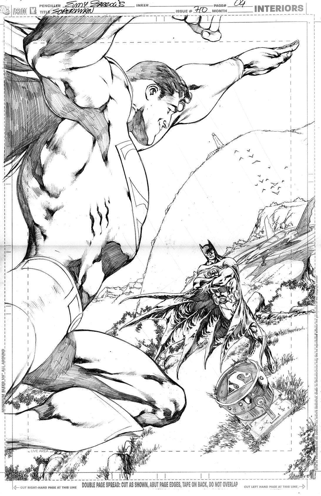 SUPERMAN 710, PAGE 04 by eddybarrows