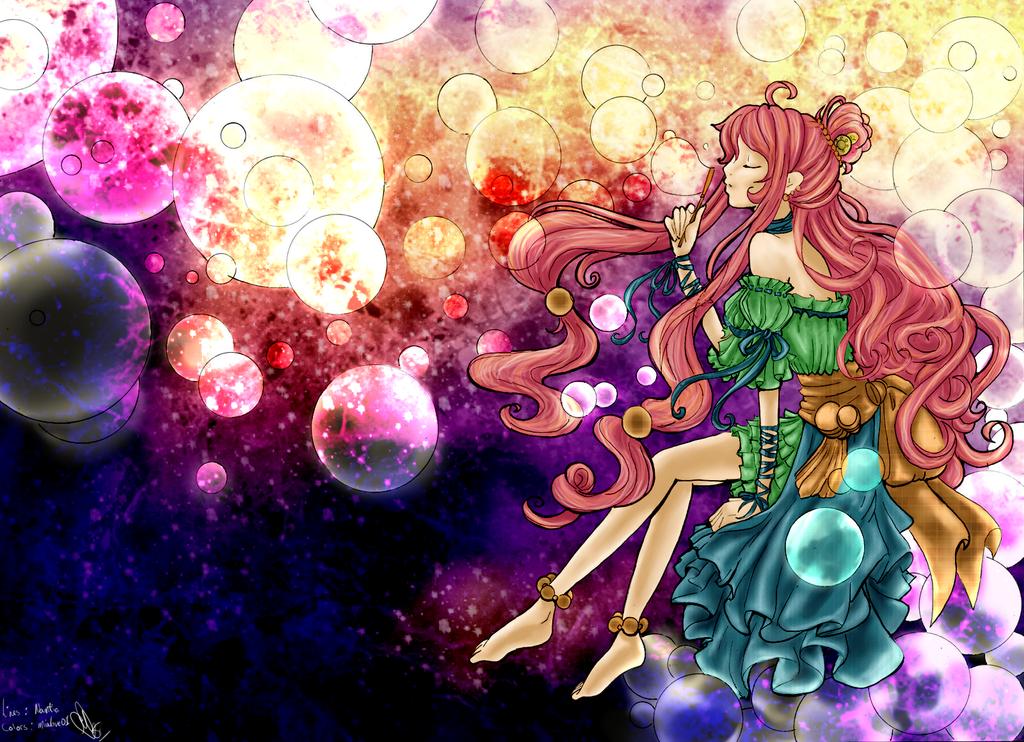 Bubble Princess Color by mialove01