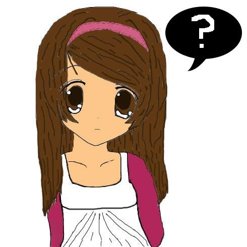 Confused Girl By Aozora95 On Deviantart