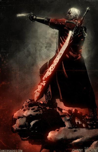 Devil May Cry Iii By Scabbedangel On Deviantart