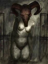 Red Headed Slut by ScabbedAngel