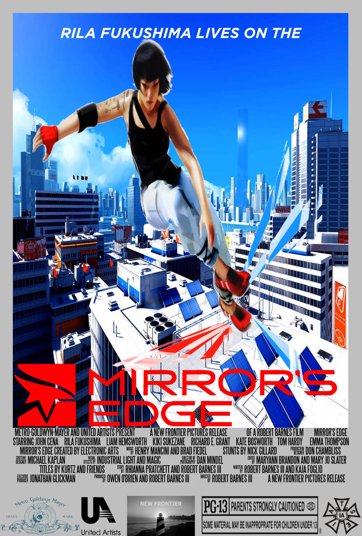 Mirror's Edge - Concept Movie Poster by PeachLover94