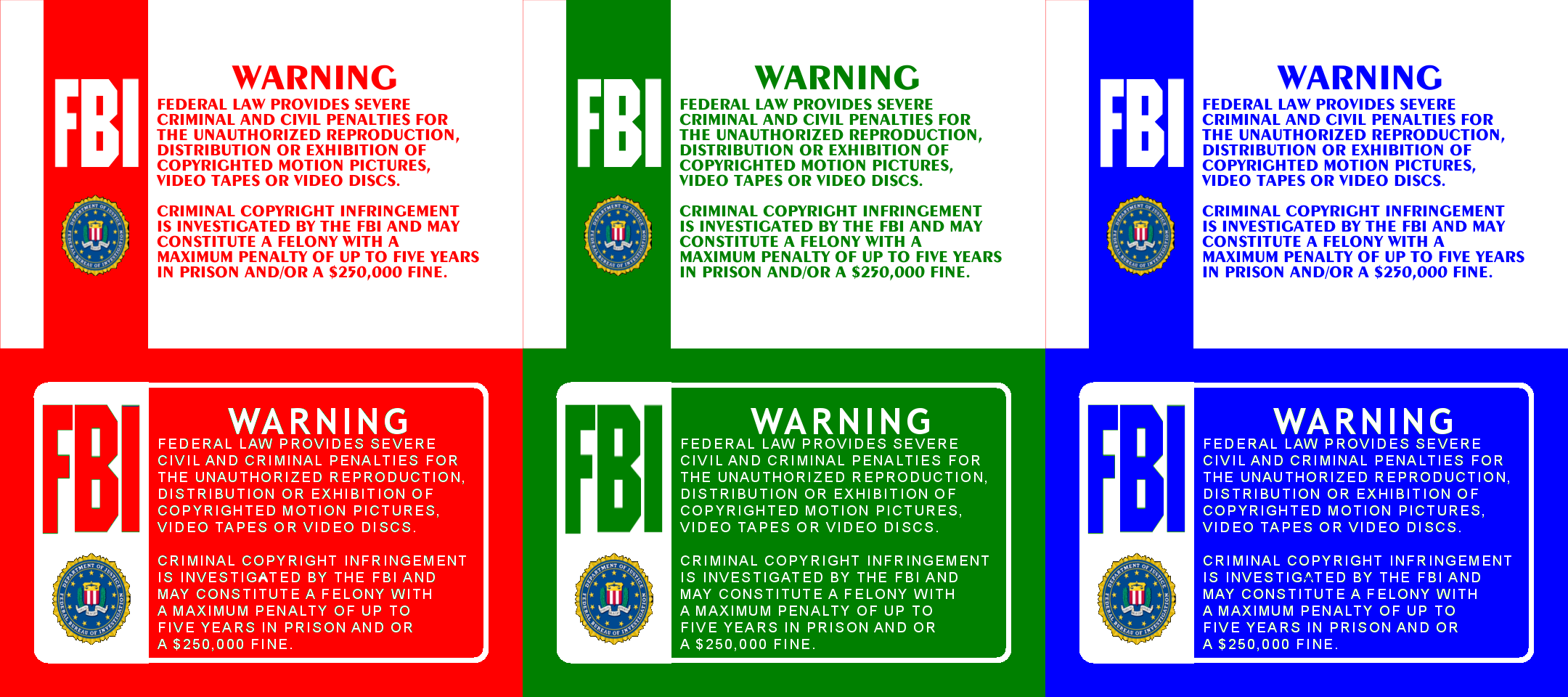 blue fbi warning screens www imgkid com the image kid fbi anti piracy warning screen fbi anti-piracy warning unauthorized copying is punishable under federal law