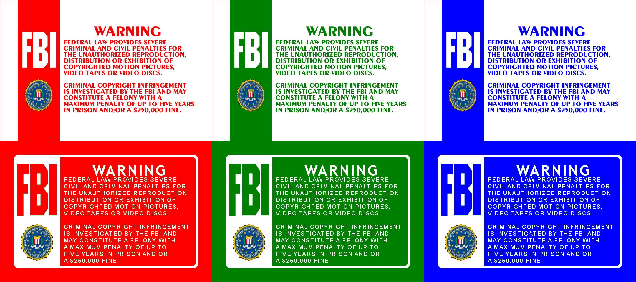 fbi warning logo red wwwimgkidcom the image kid has it
