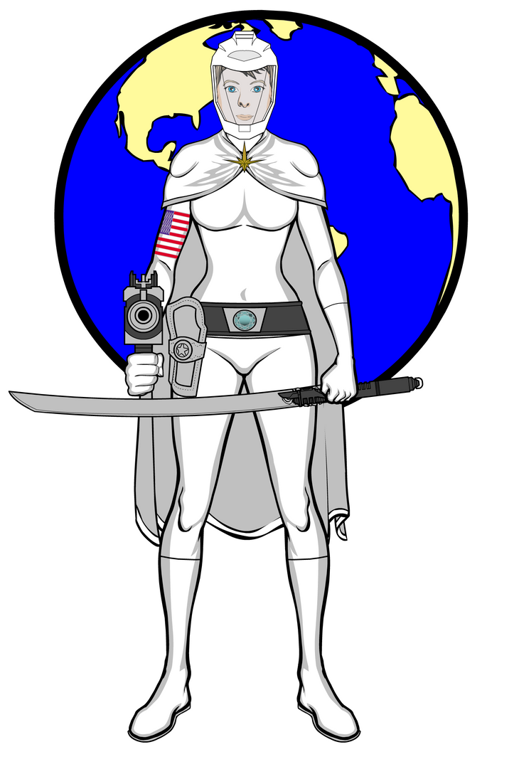 Buck Rogers XXVC - SDD Colonel Wilma Deering by PeachLover94