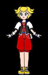 Peach - Kingdom Hearts 1 Sora by PeachLover94