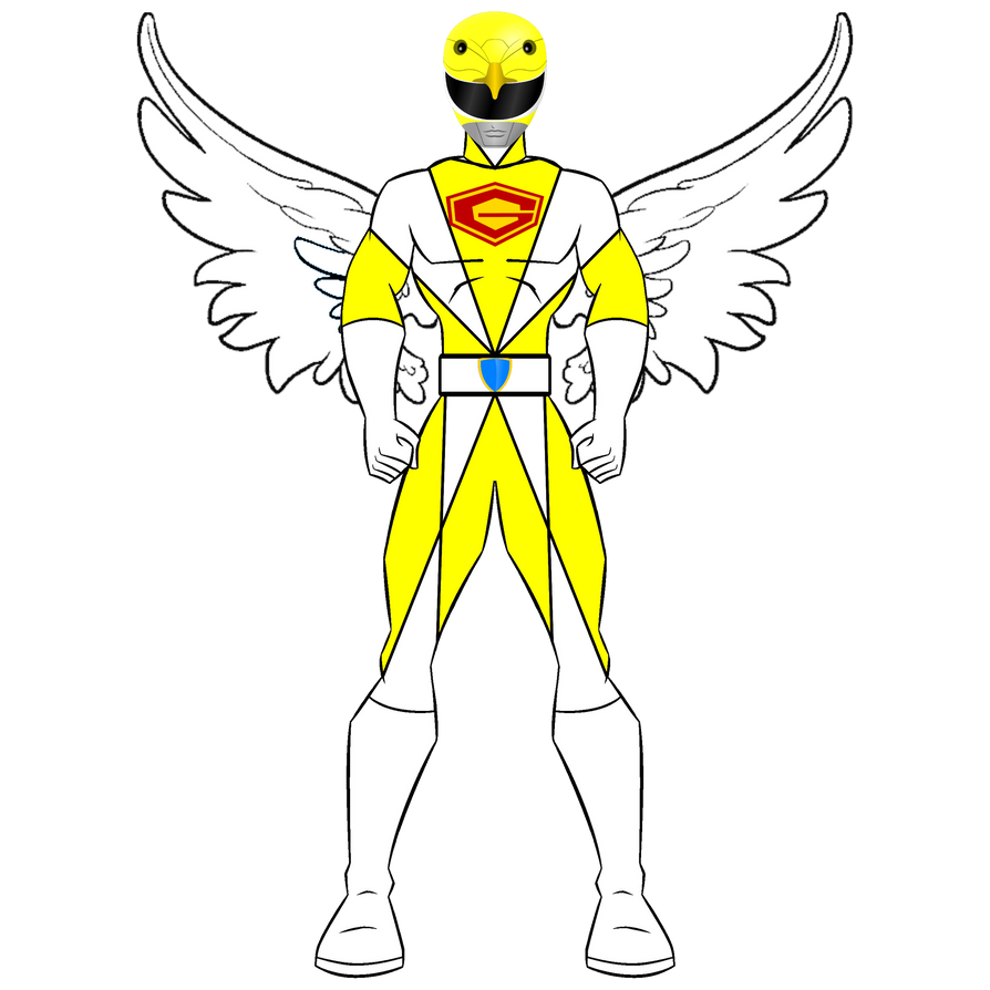 G4 Yellow Jet Ranger - Jinpei the Swallow