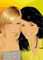Mandy e Vonne by jorgepacker